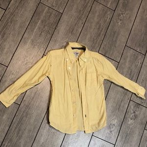 Children's place button down long sleeve shirt